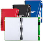 5 X 7 Graph And Go Notebooks